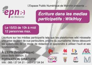 Ecriture dans les medias participatifs : Le WikiHuy